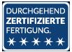zertifizierungsbutton